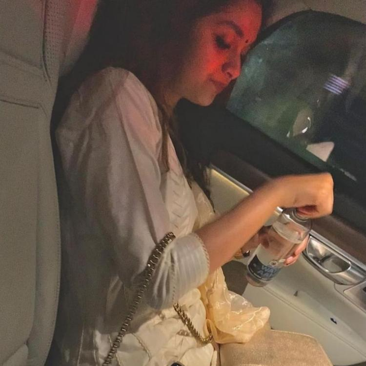 Keerthy Suresh spreads festive vibes in her new post with checklist for celebrations; See post