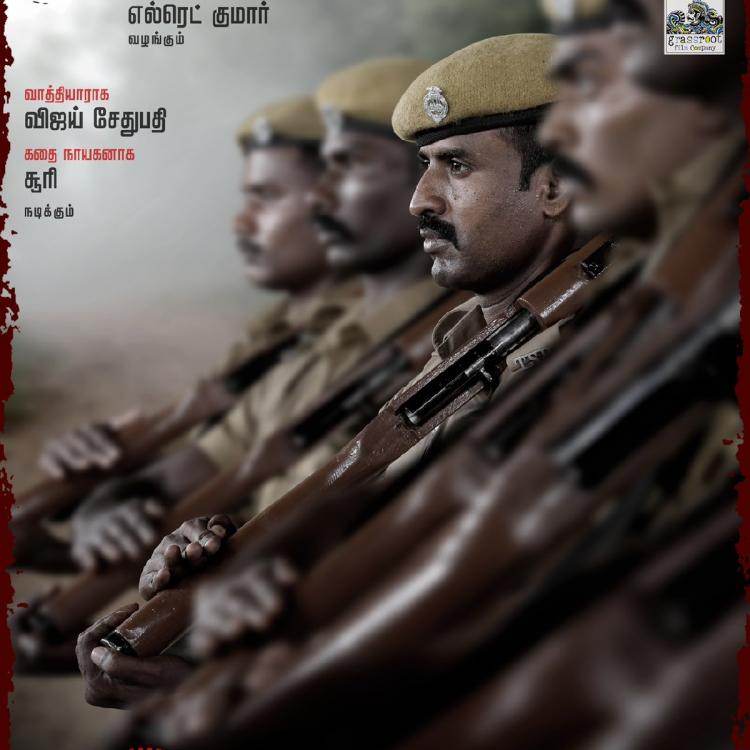 Keerthy Suresh sends her best wishes to Soori & Vijay Sethupathi for Viduthalai; Calls first look 'intriguing'