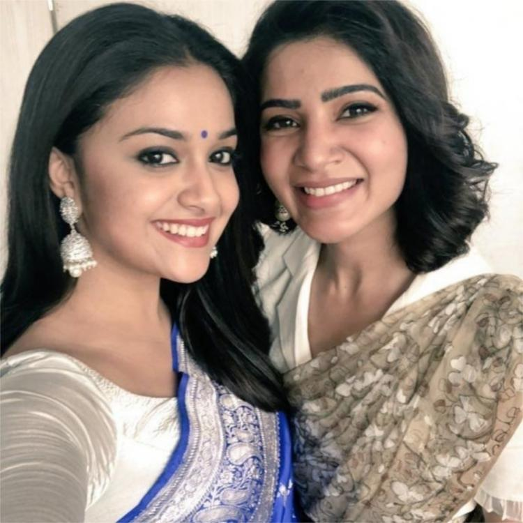 PHOTOS: Keerthy Suresh looks back at her sweet memories with Samantha Akkineni; Calls her a lovely human being