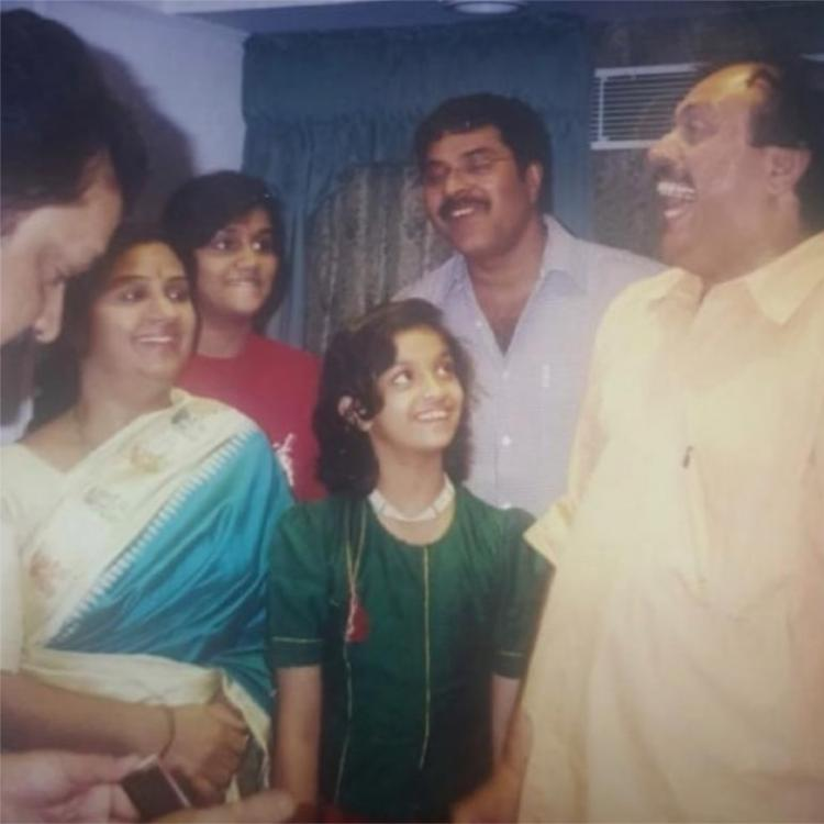 Keerthy Suresh relives childhood memories with Mammootty; Calls him a constant source of inspiration