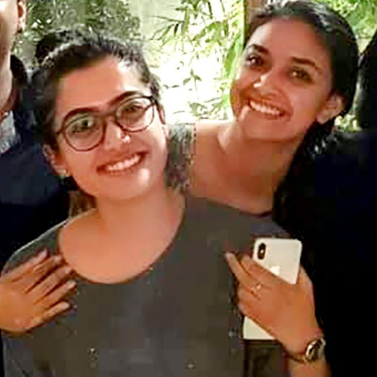 Keerthy Suresh wishes her 'darling' Rashmika Mandanna on birthday; Says they need to click more pics together