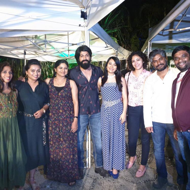 Yash's wife Radhika Pandit shares a throwback photo with their friends; Says 'They make our life beautiful'