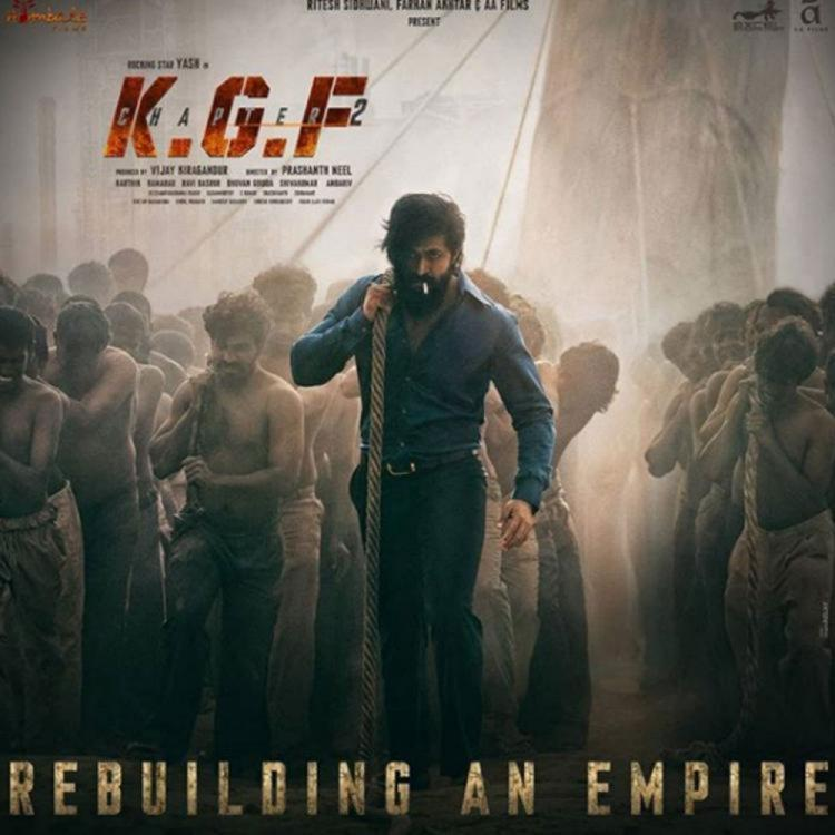 KGF: Chapter 2: Makers of Yash starrer plan to shoot the costliest song at Hyderabad's Taj Falaknuma Palace