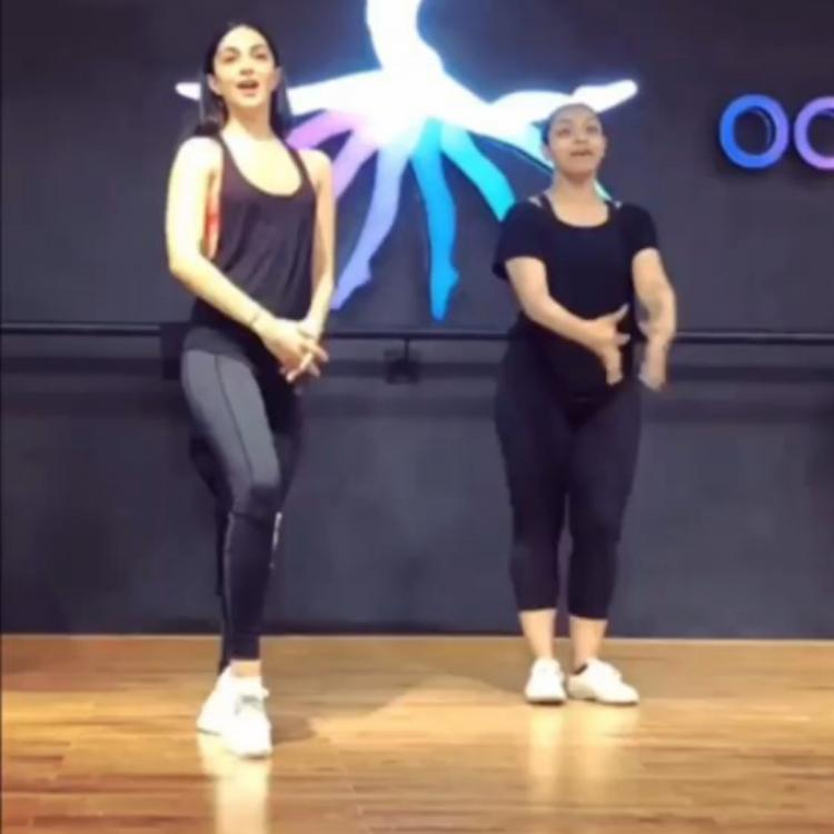 Kiara Advani showed off dancing skills as she rehearsed for Kalank's track First Class; Watch Throwback Video