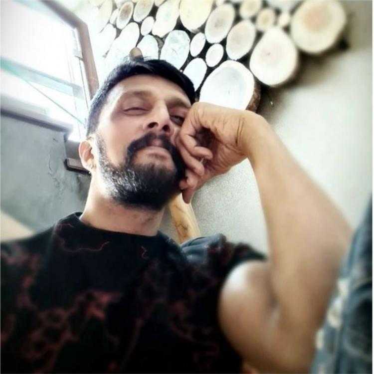 Kichcha Sudeep approached to play a key role in Shankar's next pan Indian film with Ram Charan?