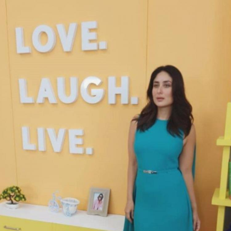 Kareena Kapoor Khan is elegance personified in her latest pictures in a blue dress; check them out