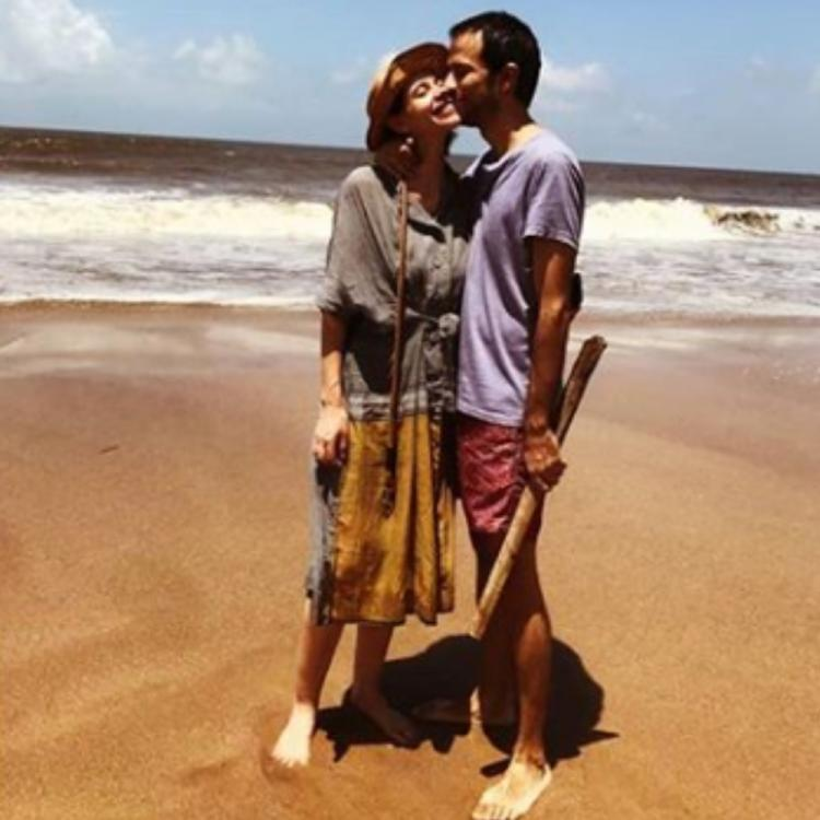 Kalki Koechlin makes her relationship with rumoured BF Guy Hershberg insta official; View PIC