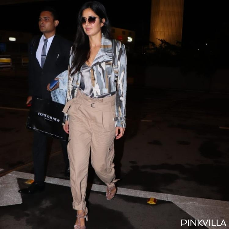PHOTOS: Katrina Kaif proves that she is a fashionista with her latest airport look