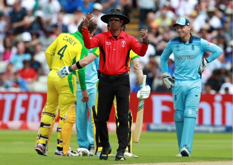 Kumar Dharmasena backed by ICC for overthrow call in finals.