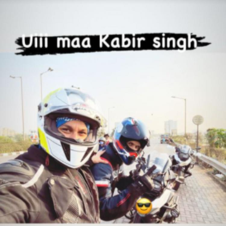 Kunal Kemmu has the most hilarious response as he heads out for a ride with Shahid Kapoor aka Kabir Singh; PIC