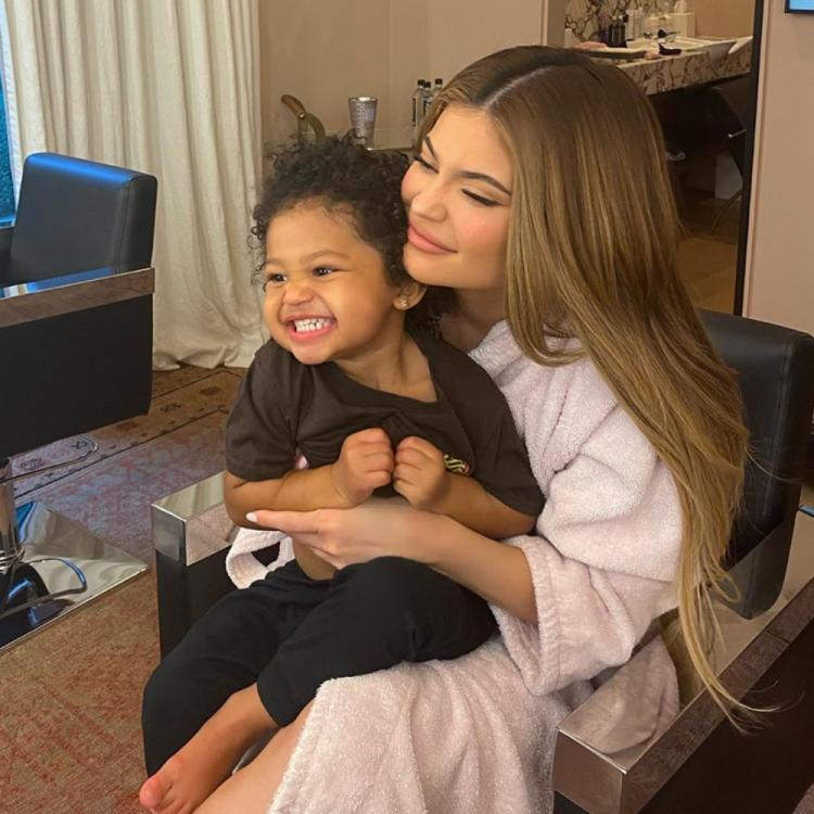 Kylie Jenner gushes about daughter Stormi Webster growing up; Shares cute videos of her playing by the pool