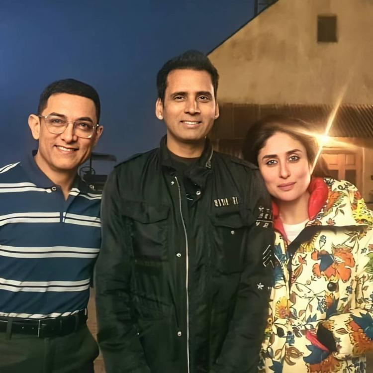 Laal Singh Chaddha: Kareena Kapoor Khan and Aamir Khan are all smiles in a BTS photo from the sets