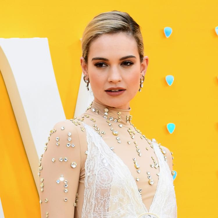 Lily James cancels appearance of Tonight Show amidst scandal