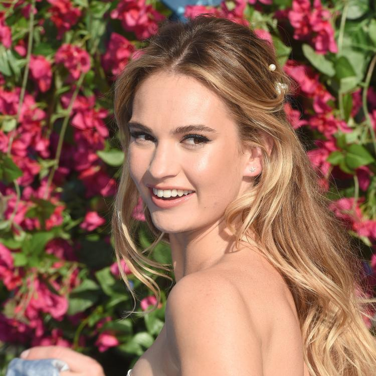 Lily James' quotes resurface amidst Dominic West drama