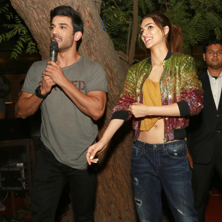 Sushant Singh Rajput and Kriti Sanon dated each other, claims Lizaa Malik