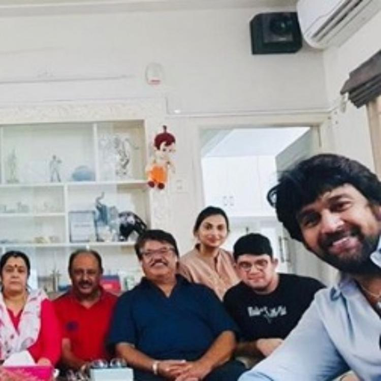 Chiranjeevi Sarja's wife Meghana Raj's PHOTO with the entire family leaves his fans in tears