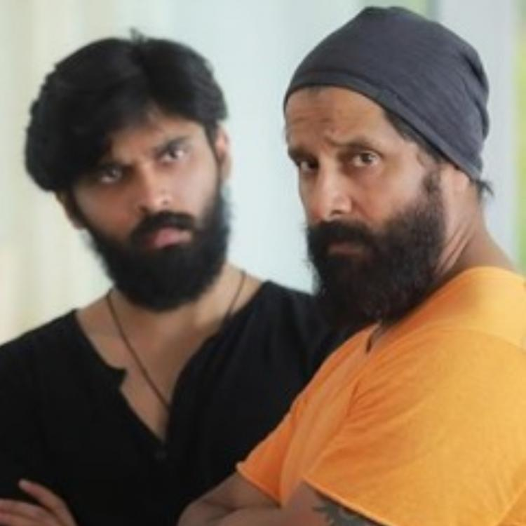 Chiyaan Vikram & son Dhruv to share screen space in Karthik Subbaraj's upcoming directorial?