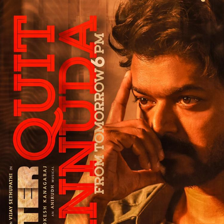 Fans of Thalapathy Vijay trend #QuitPannuda