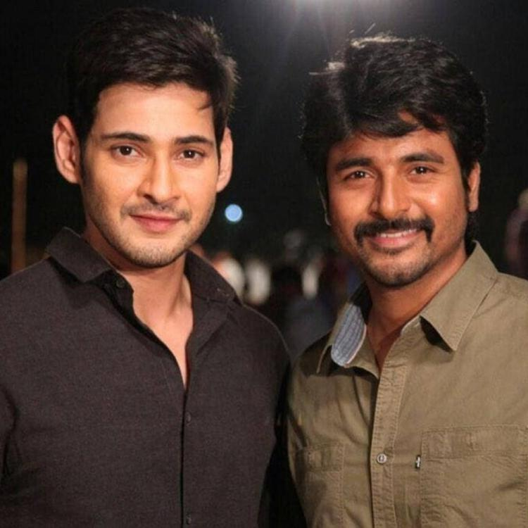 Mahesh Babu's throwback picture with actor Sivakarthikeyan will surely leave the fans nostalgic