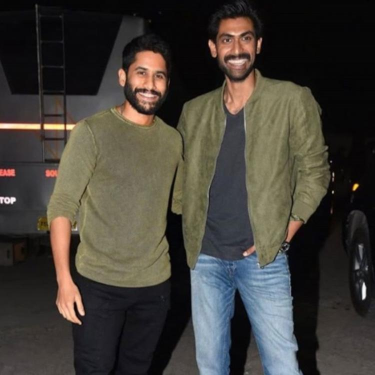 Rana Daggubati and Naga Chaitanya are twining in military green colour in THIS throwback picture