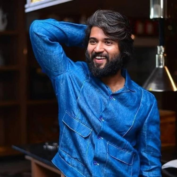 Vijay Deverakonda is winning hearts as he aces the denim look in the throwback PHOTO; Check it out