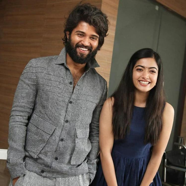 Vijay Deverakonda & Rashmika Mandanna look stylish in the throwback PHOTO; fans can't stop gushing over it