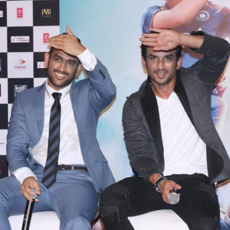 When Sushant Singh Rajput & MS Dhoni gave similar expressions while promoting the Indian skipper's biopic