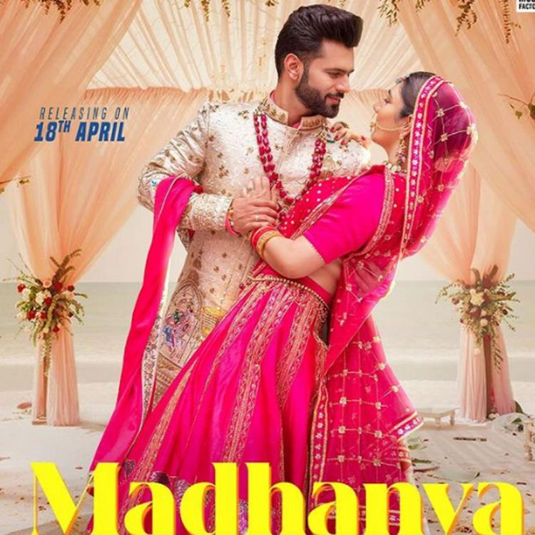 Rahul Vaidya shares the first poster of his song Madhanya with ladylove Disha Parmar; To release on April 18
