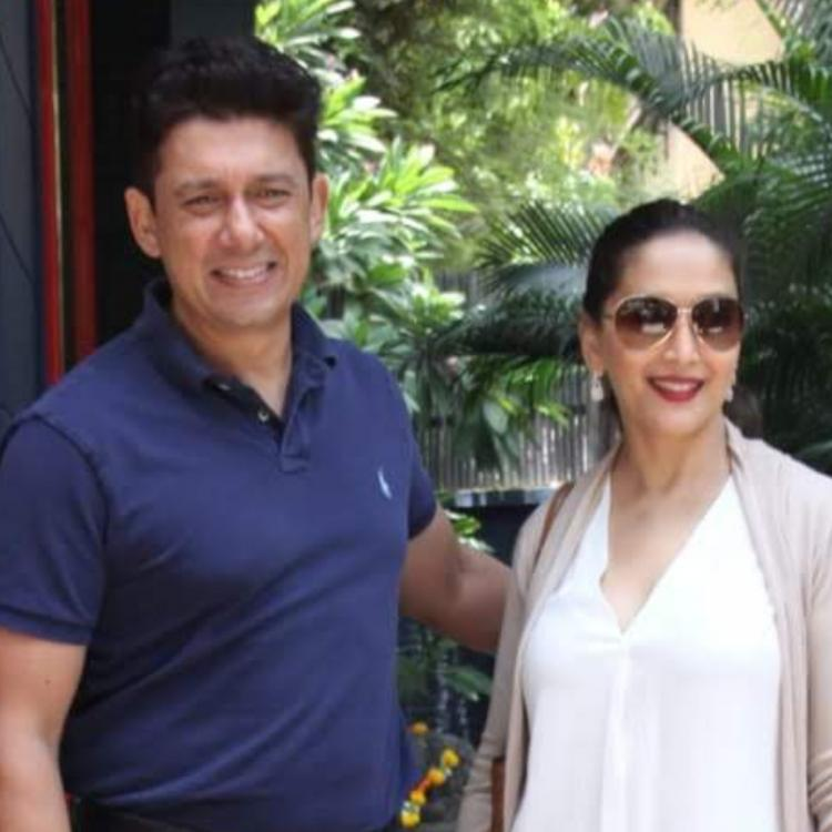 Madhuri shares throwback pic with Dr. Nene