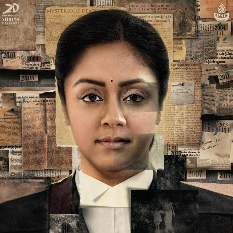 PHOTO: Suriya shares the first look of Jyothika's film Ponmagal Vandhal; says it's a very special film