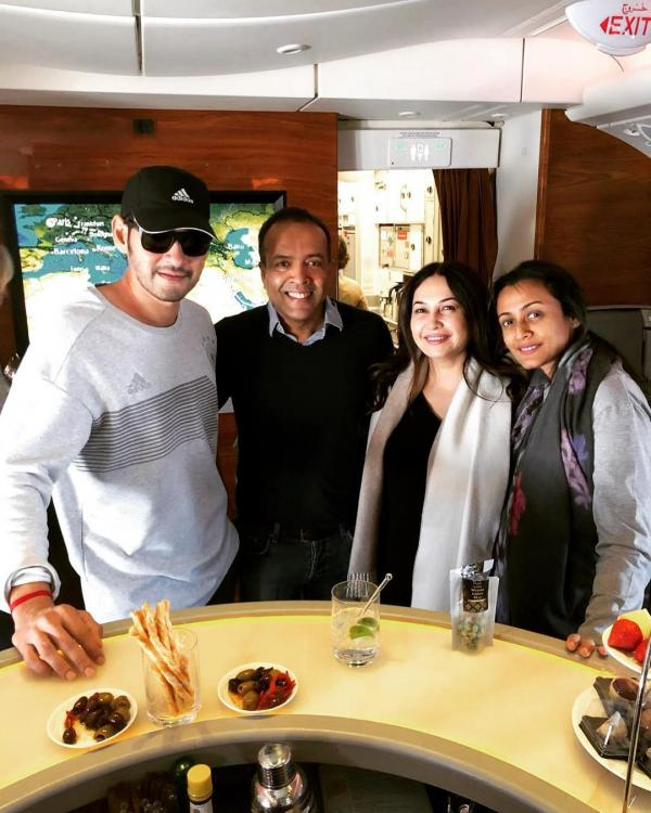 Mahesh Babu jets off to Paris with wife Namrata Shirodkar after wrapping up Maharshi; see pic