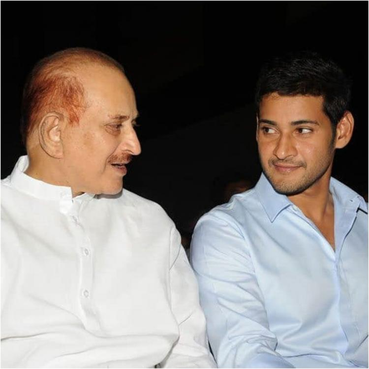 Mahesh Babu shares a special post for his dad on Father's Day, Says 'You always inspire me'
