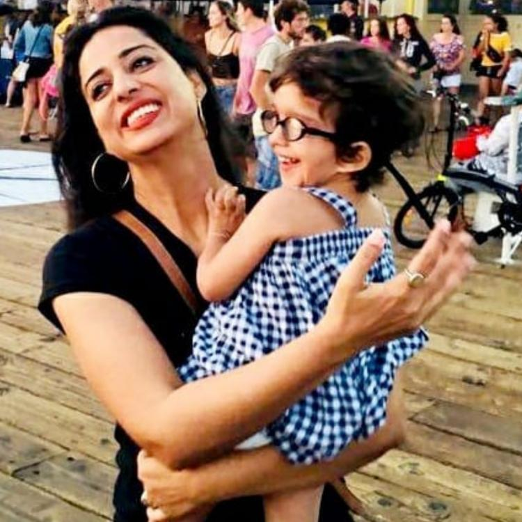 Mahie Gill is a mother to her four-year-old daughter, Veronica