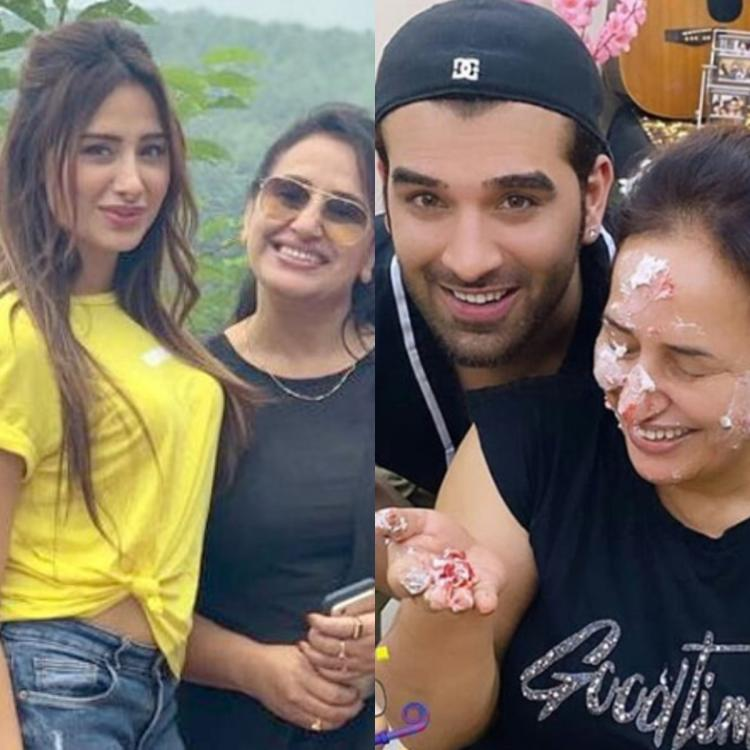 Mahira Sharma celebrates her mother's birthday with Paras Chhabra at home and it is all things fun; WATCH