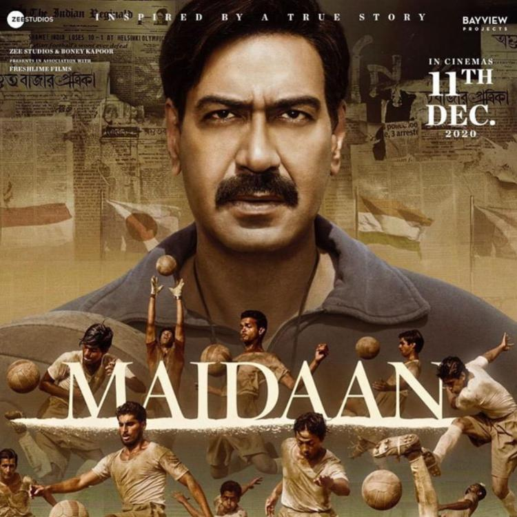 Maidaan New Posters: Ajay Devgn looks intense as his players showcase their football skills