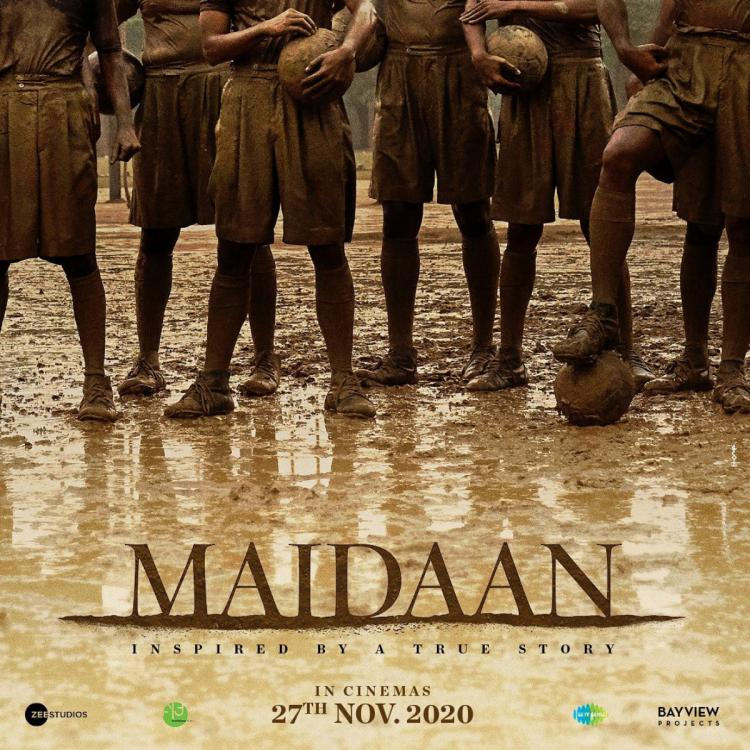 Maidaan Teaser Poster: Ajay Devgn shares a glimpse of the footballers who are all set to take on the game