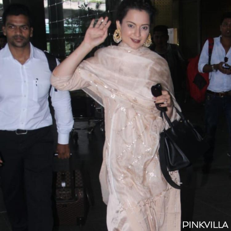 PHOTOS: Kangana Ranaut's latest airport look proves she's the ultimate Queen of ethnic attire