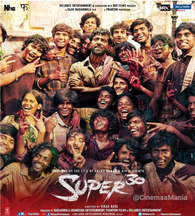 Super 30 Movie Review: Triumph story of Hrithik Roshan as Anand Kumar with a tinge of Bollywood drama