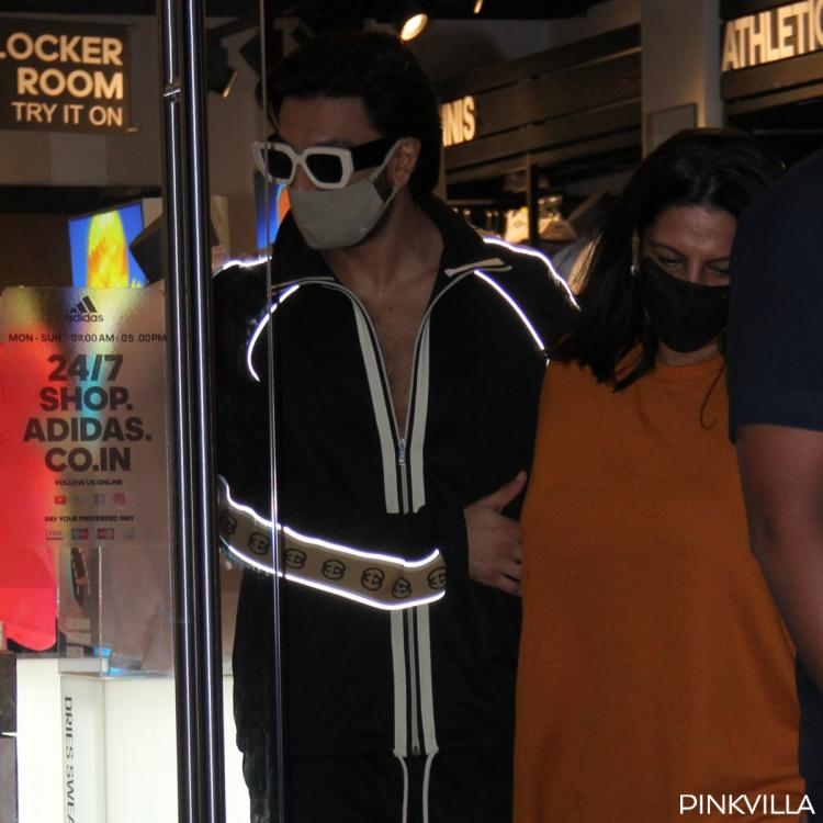 Ranveer Singh spotted in the city with his mother