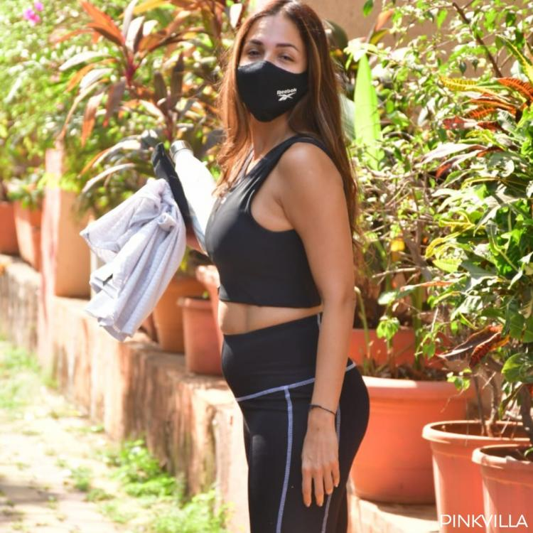 PHOTOS: Malaika Arora shells out fitspiration as she 'hustles' to gym in all black look: Get healthy & strong