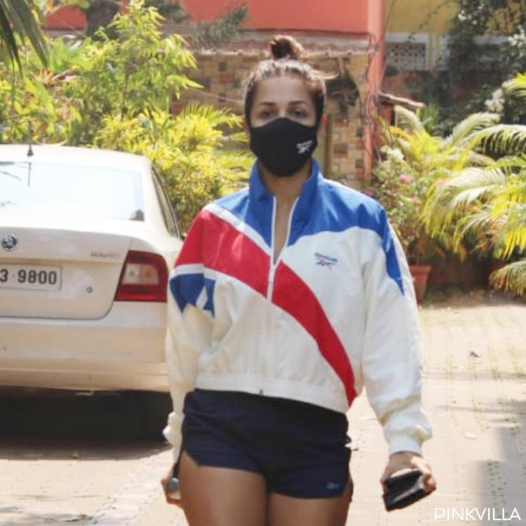 Malaika Arora keeps up with her workout after Valentine's Day celebration with beau Arjun Kapoor; PHOTOS