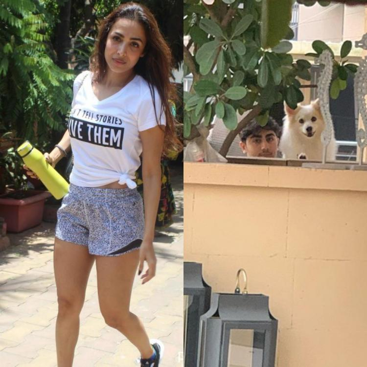 Malaika Arora gets emotional as she captures her babies while quarantining: Heart breaks to not be able to hug