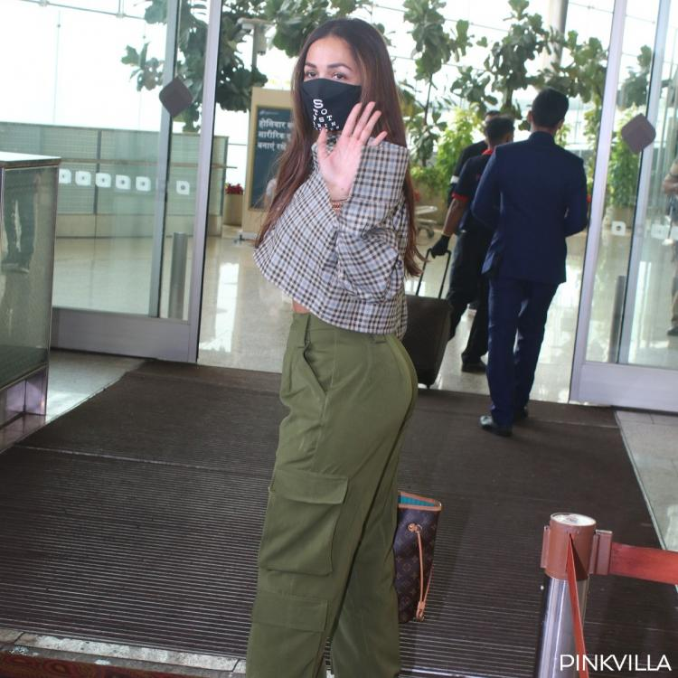 Malaika arora heads out airport