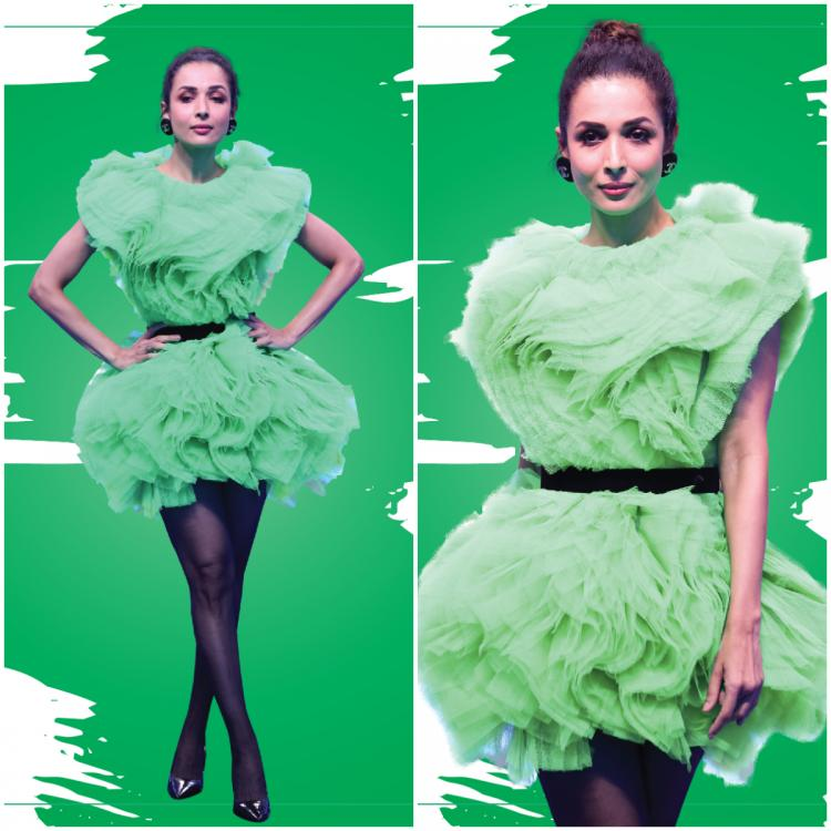 Malaika Arora in a bright green dress by Wilhja x Viange Vintage: Yay or Nay?