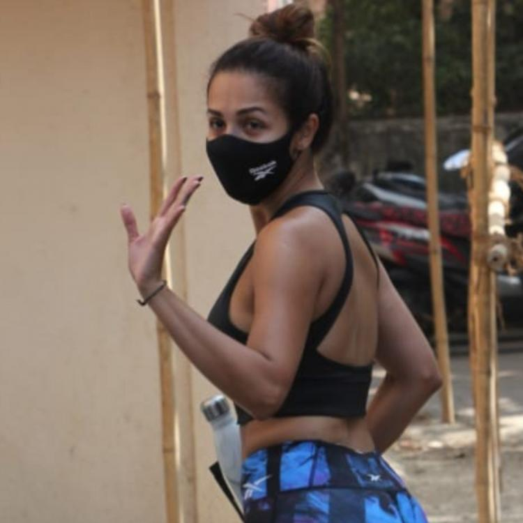 PHOTOS: Malaika Arora snapped post her weekly Pilates session, turns up the heat in her striking gym wear