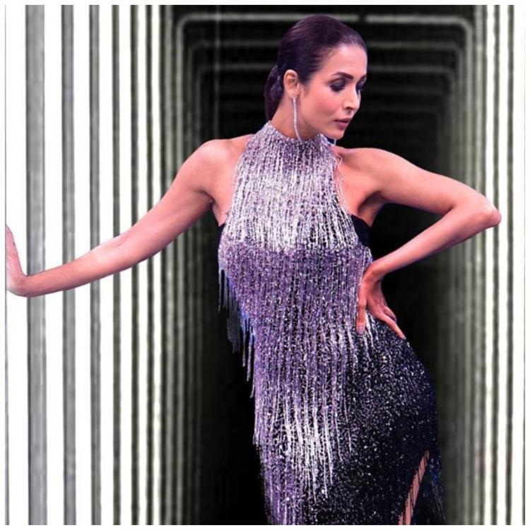 Malaika Arora takes us back to the 80s in a sequinned fringe number by Yousef Aljasmi: Yay or Nay?