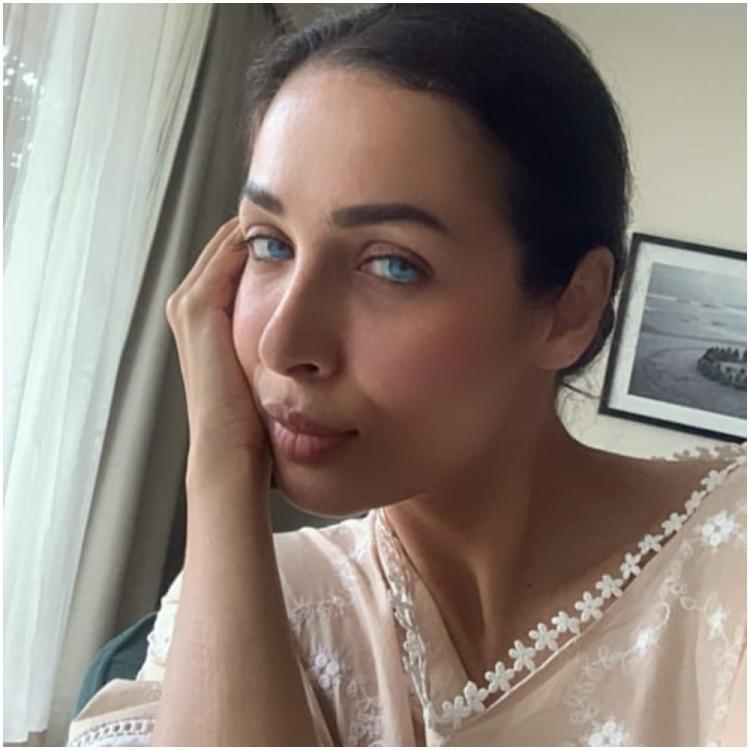 Malaika Arora turns into a blue eyed beauty as she chills at home and plays with Instagram filters