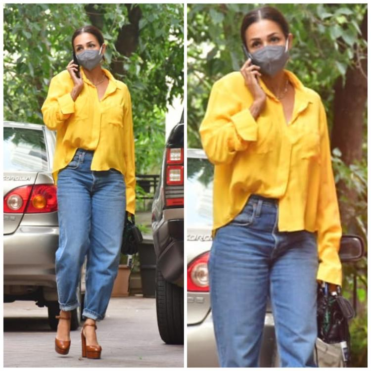 Malaika Arora makes street style look chic as she adds colour to her casual OOTD; Yay or Nay?