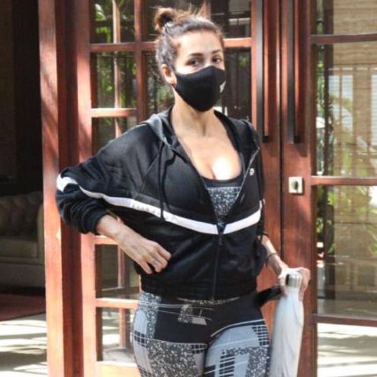 PHOTOS: Malaika Arora keeps up her date with the gym as she gets snapped post workout.