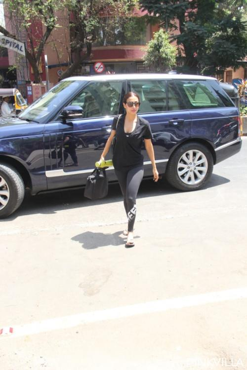 PHOTOS: Malaika Arora sweats it out in the gym and her all black look is winning the internet